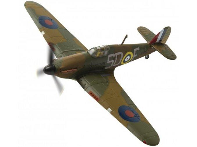Corgi - Hawker Hurricane Mk.I, RAF, 501.Squadron, Sgt. J.H. 'Ginger' Lacey, 1/72