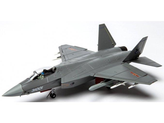 Air Force One - Shenyang J-31 Falcon Hawk, PLAAF, Čína, 1/48