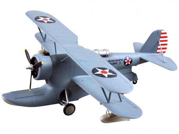 Easy Model - Grumman J2F-5 Duck, US NAVY, Fleet Air Photographic Unit Atlantic-3, 1941, 1/48
