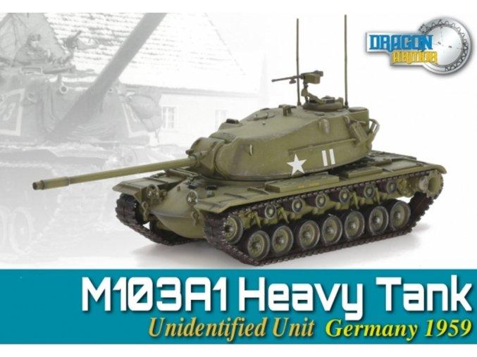Dragon - M103A1, US Army, Německo, 1959, 1/72