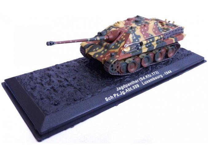 Altaya - Sd.Kfz.173 Jagdpanther, Schwere Pz.Jg.Abt. 559, Lucembursko, 1/72 - SLEVA 25%