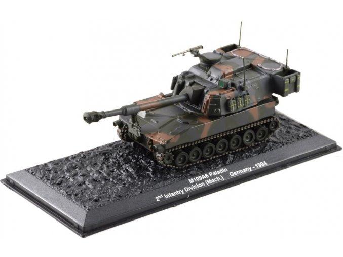 Altaya - M109A6 Paladin, 2nd Infantry Div., Německo, 1994, 1/72 - SLEVA 25%