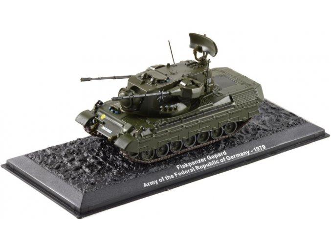 Altaya - Flakpanzer Gepard, Německo, 1979, 1/72 - SLEVA 25%