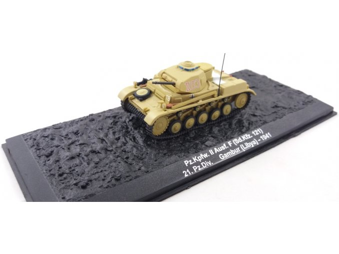 Altaya - Pz.Kpfw.II Ausf. F, 21. Panzer Div., Lybie, 1/72