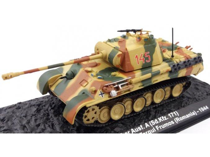 Altaya - Pz.Kpfw.V Ausf.A Panther, Pz.Gren.Div. Grossdeutschland, Rumunsko, 1/72