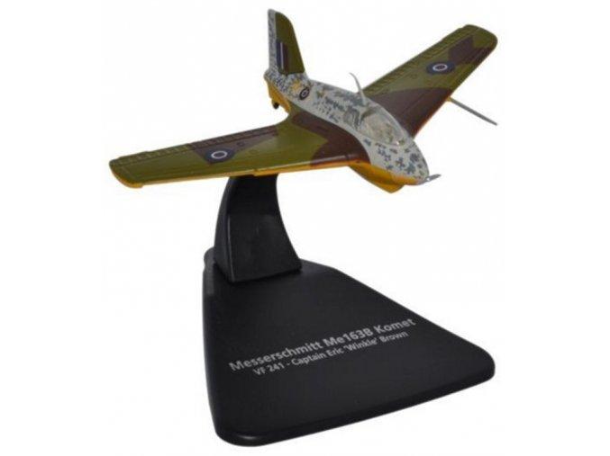 Oxford - Messerschmitt Me163B Komet, VF241, Captain Eric 'Winkle' Brown, 1/72