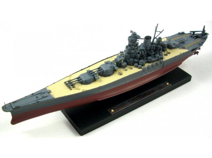 Atlas Models - Bitevní loď Yamato, japonské císařské námořnictvo, 1/1250