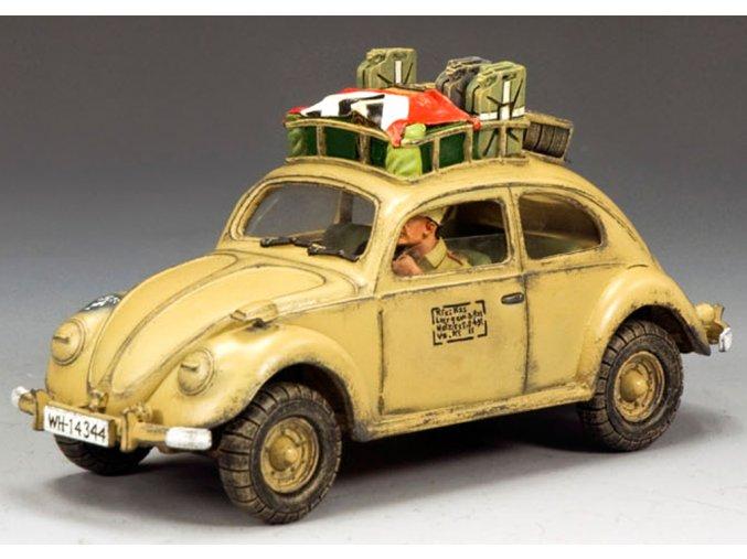 King & Country - KdF - Wagen, Deutsches Afrika Korps, 1/30