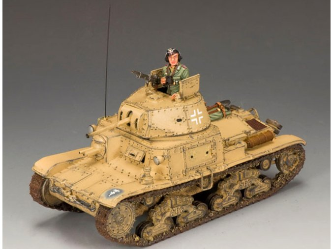 King & Country - Fiat M13/40, Deutsches Afrika Korps, 1/30