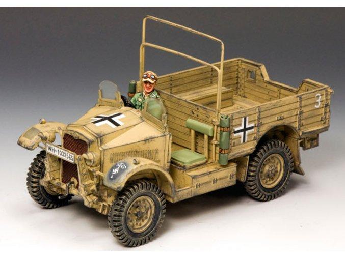 King & Country - Morris CS8 15 Cwt., Deutsches Afrika Korps, 1/30