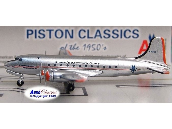 AeroClassic - Douglas DC-4, dopravce American Overseas Airlines, USA, 1/400