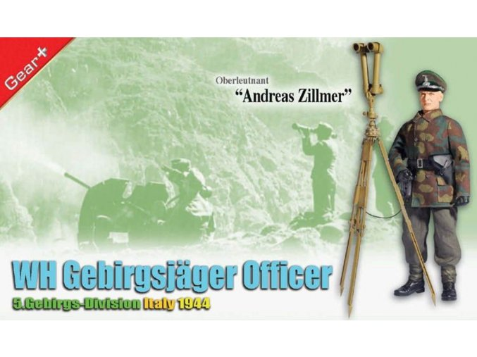 "Dragon - WH Gebirgsjager ""Oberleutnant Anders Zillmer"", 5.Gebirgs-Division, Itálie, 1944, 1/6"