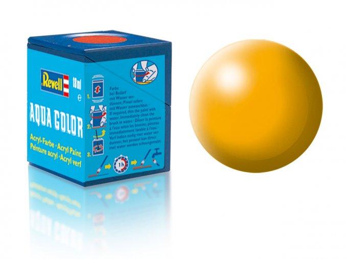 Revell - Barva akrylová 18 ml - č. 310 hedvábná žlutá (yellow silk), 36310