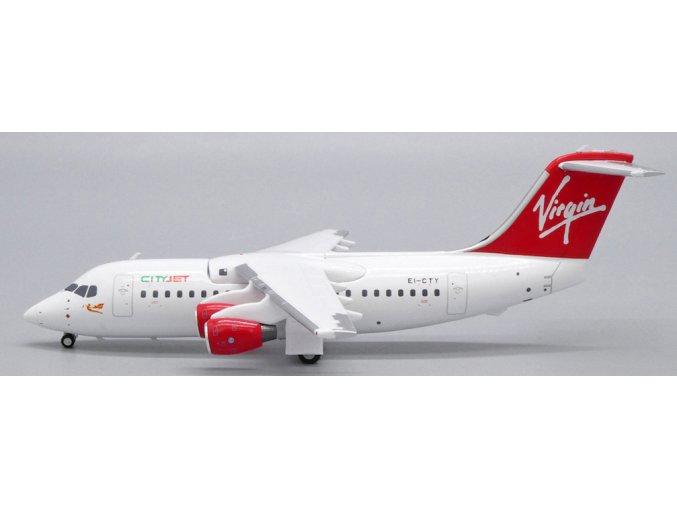 JC Wings - BAE146-200, společnost Virgin Express / City Jet EI-CTY, Belgie, 1/200