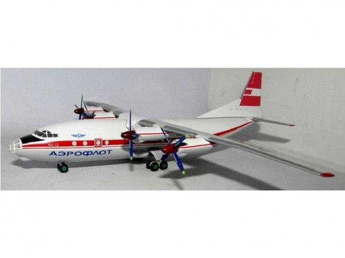 Whitebox - Antonov An-12, dopravce Aeroflot CCCP-12995 Red livery, CCCP, 1/200