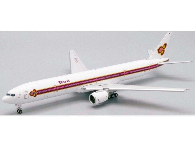 "JC Wings - Boeing  B777-300, dopravce Thai Airways ""Old Livery"" HS-TKE (klapky dolů), Thajsko, 1/400"