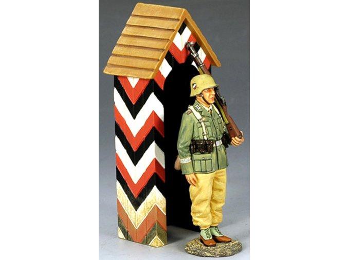 King & Country - voják s vrátnicí, Deutsches Afrika Korps, 1/30