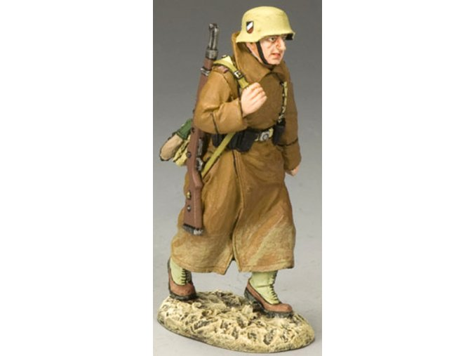 King & Country - střelec s K98, pochod, Deutsches Afrika Korps, 1/30