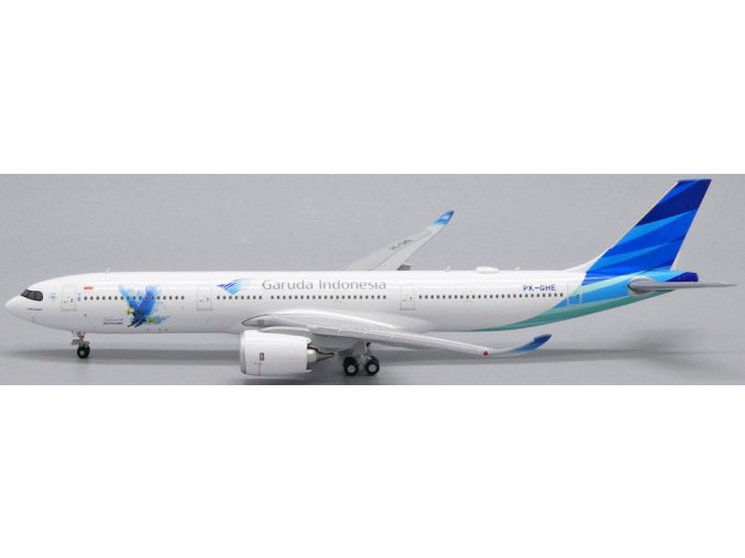 """JC Wings - Airbus A330-900neo, společnost Garuda Indonesia, """"Great Experience with A330-900NEO"""", Indonézie, 1/400"""