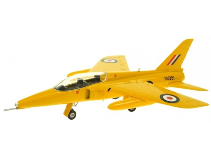 Aviation 72 - Folland Gnat T.Mk 1, RAF, Yellowjacks, XR991, 1/72
