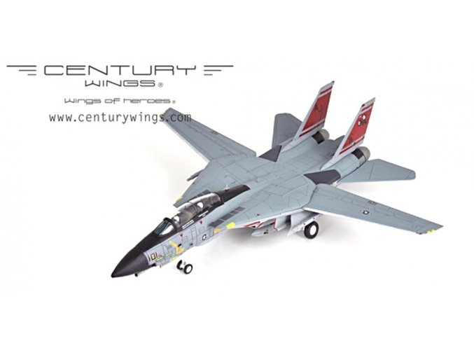 Century Wings - F-14B TOMCAT, US NAVY, USS T. Roosevelt, VF-31 Tomcatters, poslední plavba F-14, 1/72, SLEVA 19%