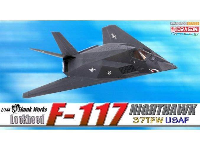 Dragon - Lockheed F-117A Nighthawk, USAF, 37th TFW, 415th TFS Nightstalkers, Eglin, 1/144