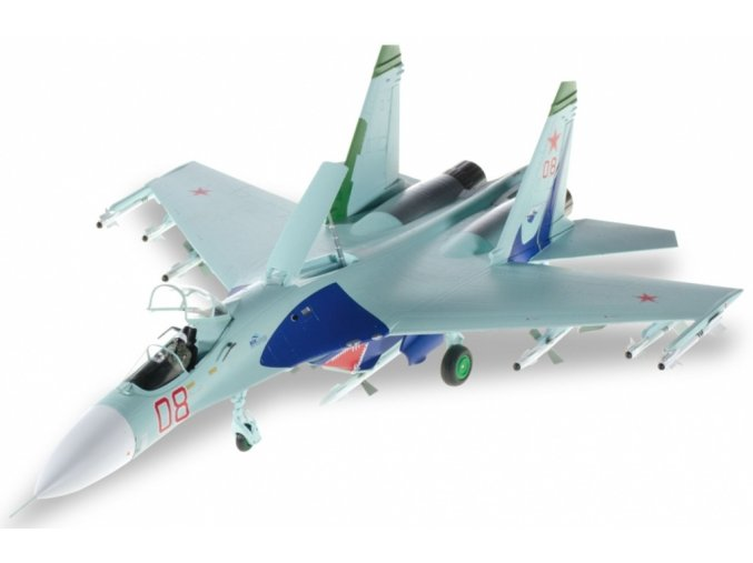 "Herpa - Suchoj Su-27 Flanker, ruské letectvo, 4 TsBP I PLS ""Lipetsk Shark"", 1/72"