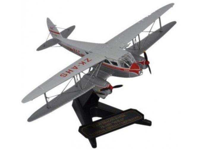 "Oxford - de Havilland Dragon Rapide, New Zealand National Airways, ZK-AHS ""Mokai"", 1/72"