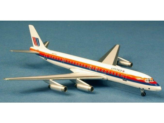 AeroClassic - Douglas DC-8-62, dopravce United Airlines, USA, 1/400