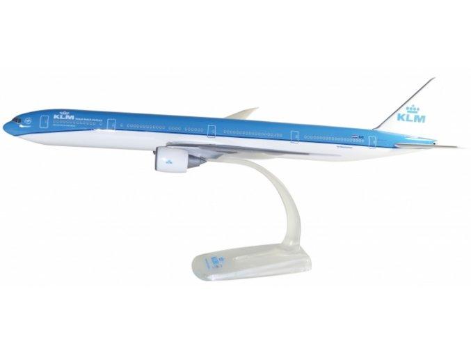 """Herpa - Boeing B777-306ER, dopravce KLM, """"2000s"""" Colors, Named """"National Park De Hoge Veluwe"""", 1/200"""