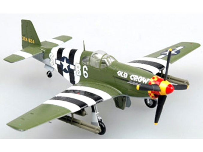"Easy Model - P-51B Mustang,362th FS, Captain Clarence ""Bud""Anderson, 1/72"