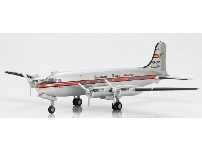 Hobbymaster - Douglas DC-4, dopravce Canadian Pacific Air Lines, Kanada,1/200