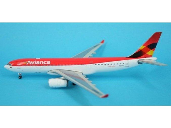 Phoenix - Airbus A330-243, společnost Avianca, Kolumbie, 1/400