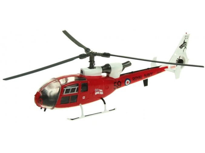 Aviation 72 - Westland Gazelle HCC.Mk 4, Royal Navy, Sharks Aerobatic Team, 1/72