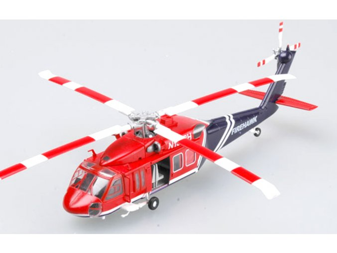 Easy MODEL 1 72 SCALE military models 37019 UH 60A American Firehawk Finished model