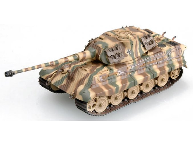 Easy Model - Pz.Kpfw.VI - Tiger II, King Tiger, věž Porsche, 1/72