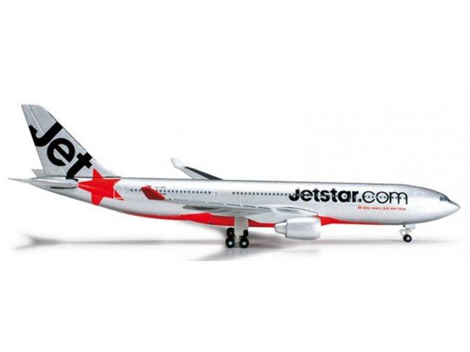 Herpa - Airbus A330-202, společnost JetStar Airways, Austrálie, 2000, 1/500