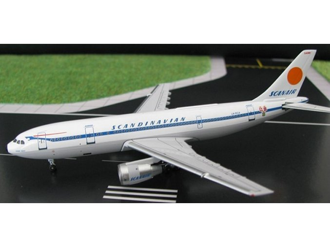 AeroClassic - Airbus A300 B4-120, společnost Scanair, Švédsko, 1/400
