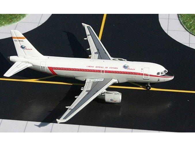 Gemini - Airbus A319-111, společnost Iberia, Španělsko, 1/400