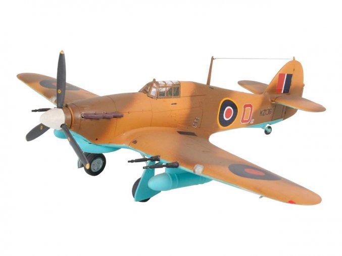 Revell - Hawker Hurricane Mk. IIC, ModelSet 64144, 1/72