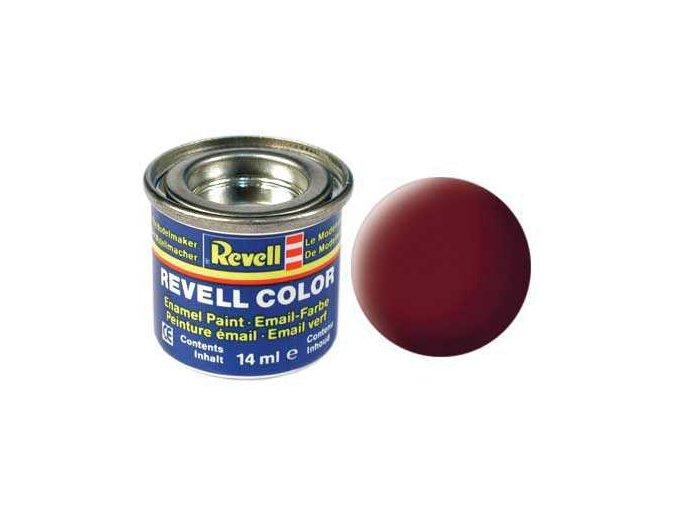 Revell - Barva emailová 14ml - č. 37 matná rudohnědá (reddish brown mat), 32137