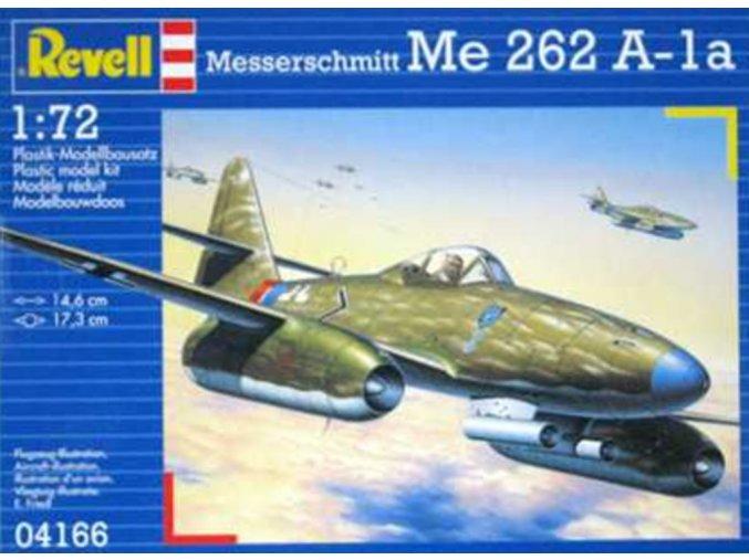 Revell - Messerschmitt Me 262A-1a, ModelKit 04166, 1/72
