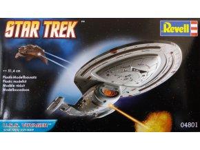 Revell - Star Trek - hvězdná loď USS Voyager (Star Trek), 1/670, ModelKit 04801
