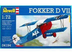 Revell - Fokker D.VII , ModelKit 04194, 1/72