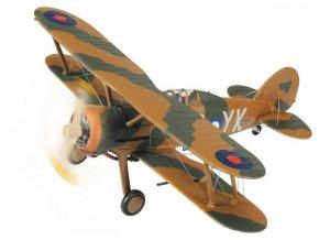 Corgi - Gloster Gladiator Mk.I, RAF, 80 Sqn., Pat Pattle, Egypt, jaro 1940, 1/72