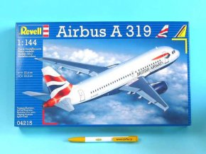 Revell - Airbus A319, 1/144, ModelKit 04215