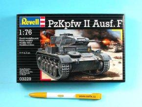 Revell - Pz.Kpfw. II. Ausf.F , ModelKit 03229, 1/76