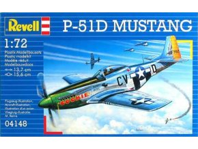 Revell - North American P-51D Mustang, ModelKit 04148, 1/72