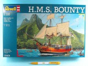 Revell - H.M.S. Bounty, ModelKit 05404, 1/110
