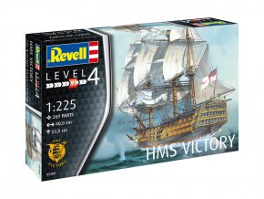 Revell - H.M.S. Victory, ModelKit 05408, 1/225